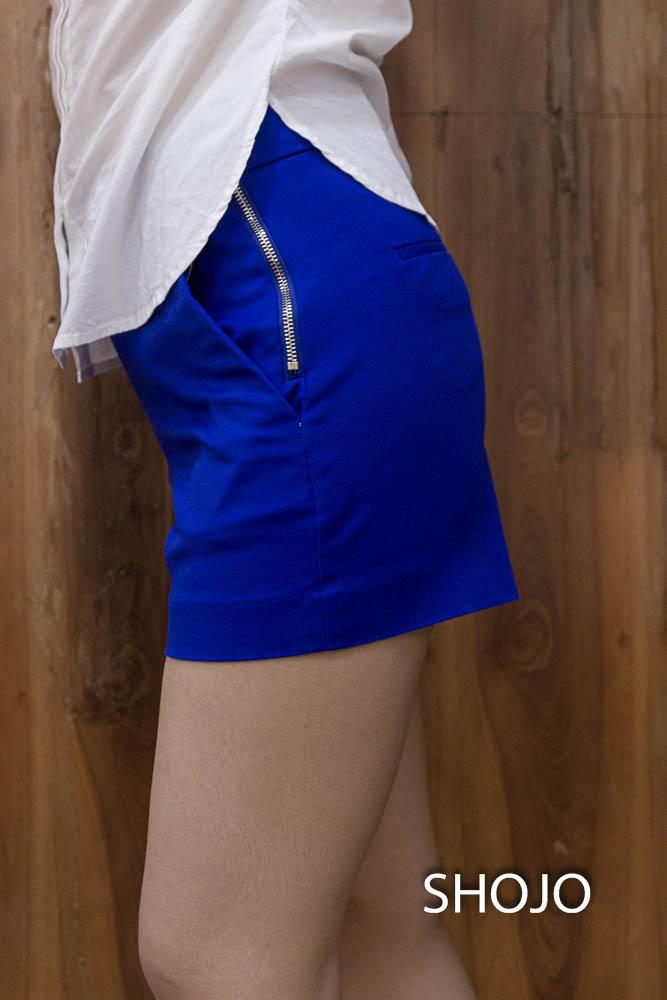 Short nữ lưng cao ống rộng